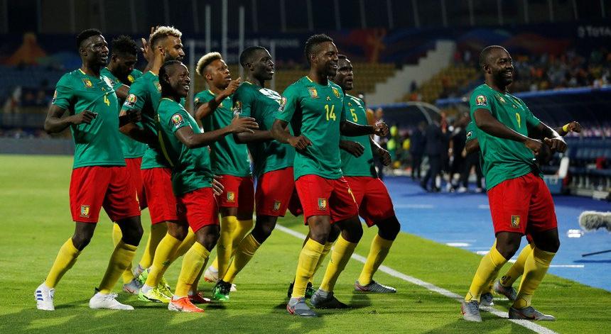 A seleção de Camarões levou de vencida a Guiné-Bissau e fez a festa