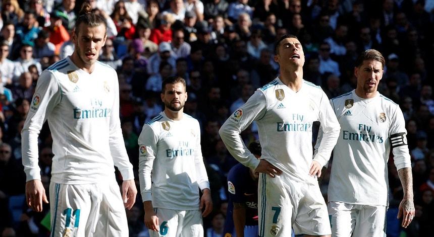Real Madrid não tem razões para festejar esta época