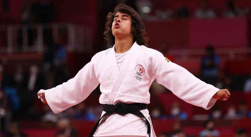 Judoca Catarina Costa teve o bronze à vista