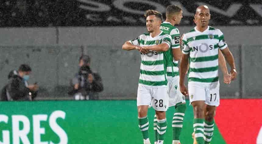"""Sporting com Pedro Gonçalves ainda em """"tratamento e ginásio"""""""