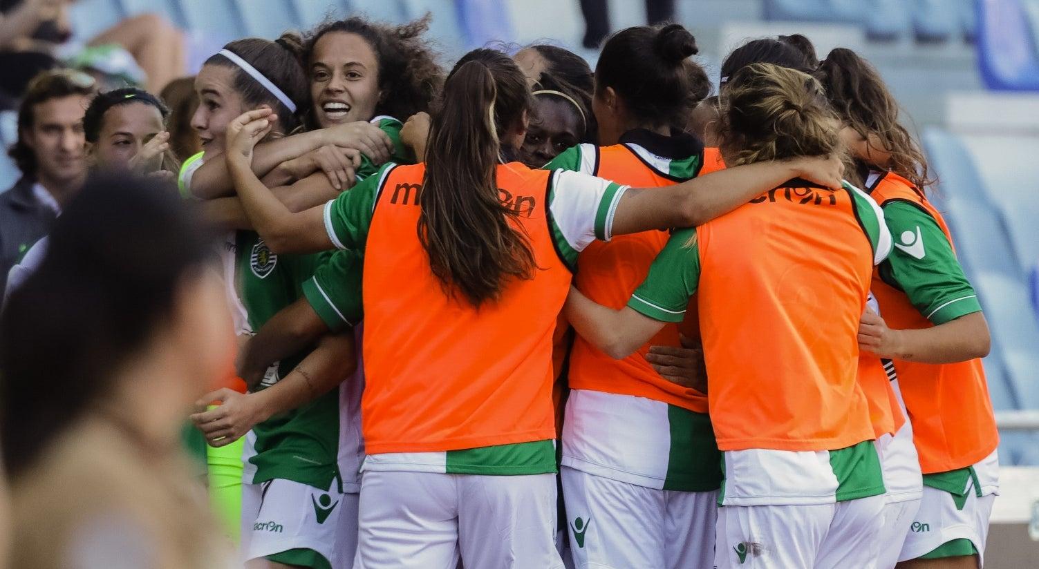 Resultado de imagem para Sporting defronta Estoril Praia nas meias-finais da Taça de Portugal feminina