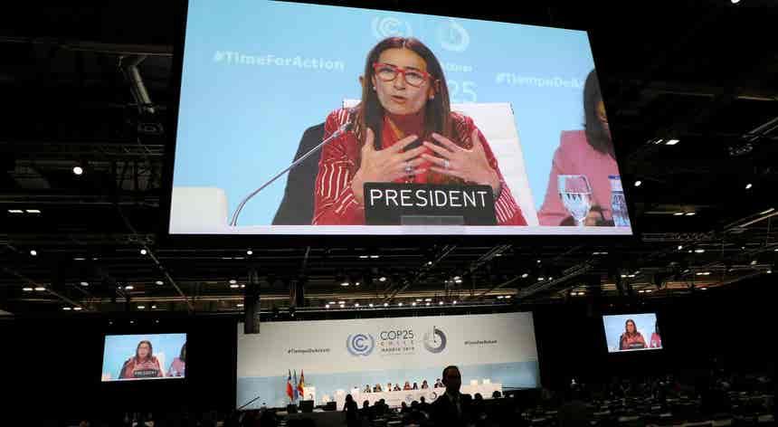 """Cimeira do Clima revelou a """"dissonância entre as pessoas e os políticos na emergência climática"""""""