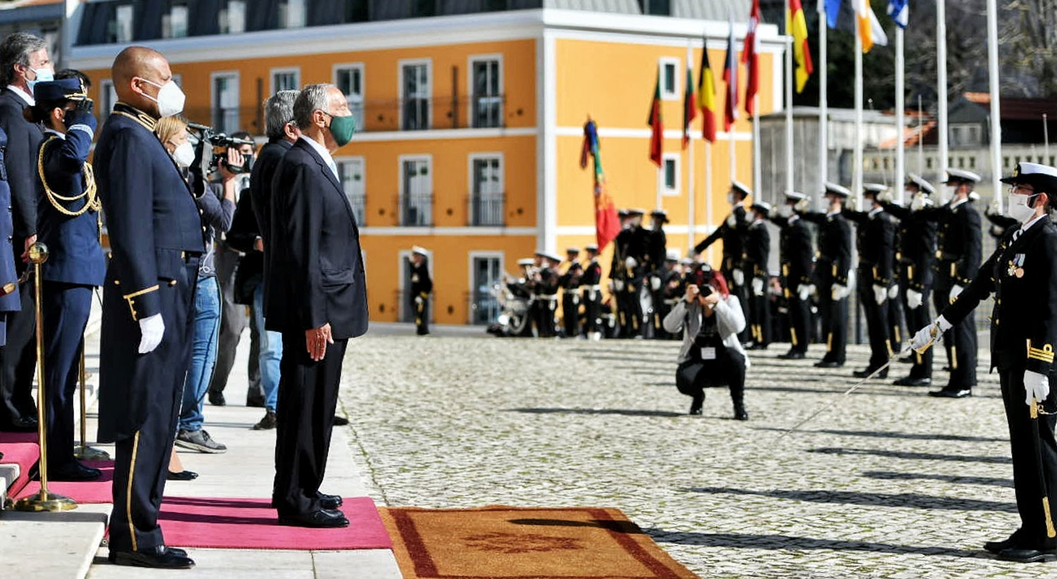 Começa segundo mandato. Marcelo toma posse como Presidente da República