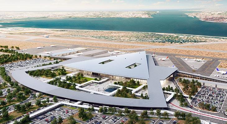 Projeto de aeroporto para o Montijo