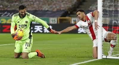"""""""Wolves"""" de Nuno Espírito Santo empatam com Southampton"""