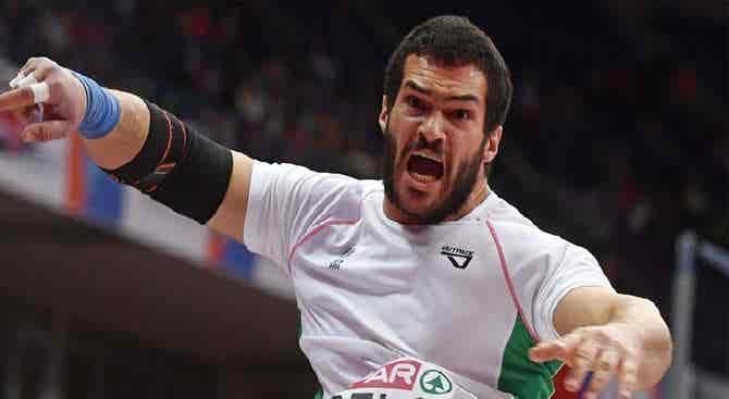 Francisco Belo conquista prata no peso na Taça da Europa de Lançamentos