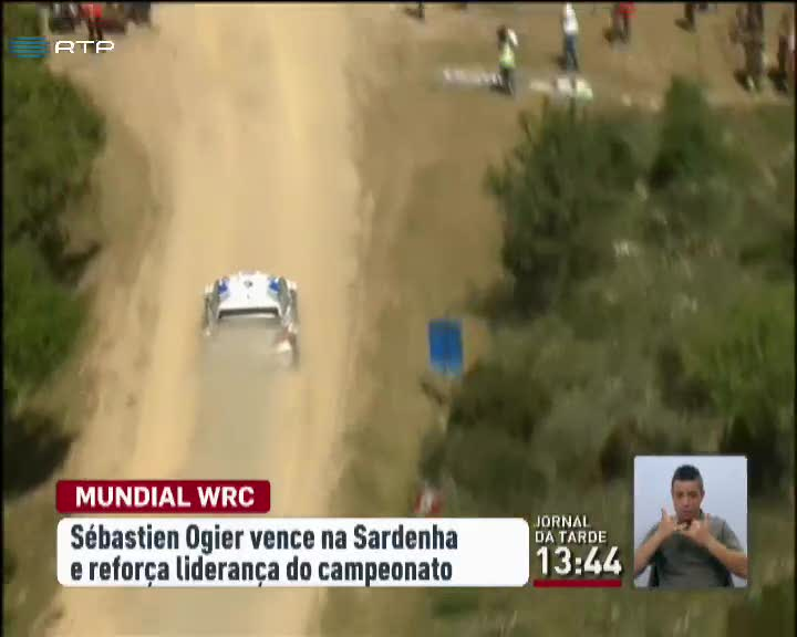 Sébastien Ogier venceu o Rali da Sardenha