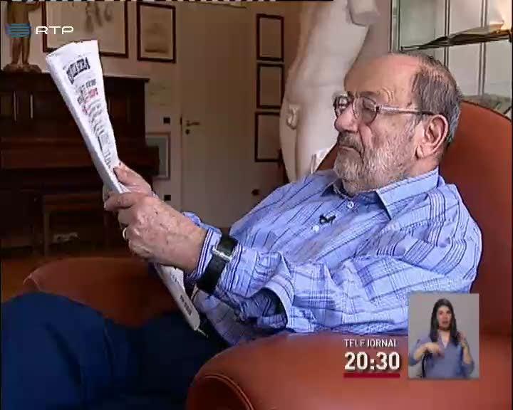 Umberto Eco critica forma como alguns jornais fazem jornalismo