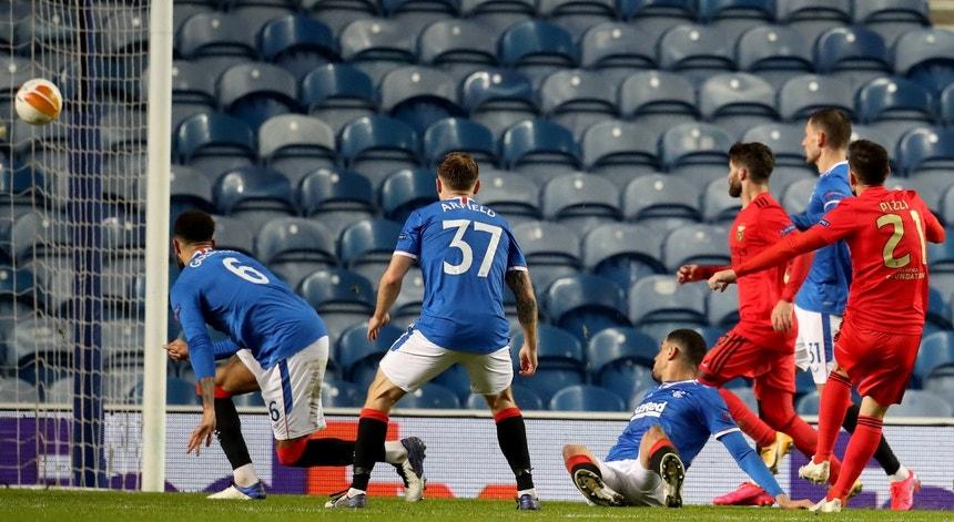 Pizzi marcou o golo do empate