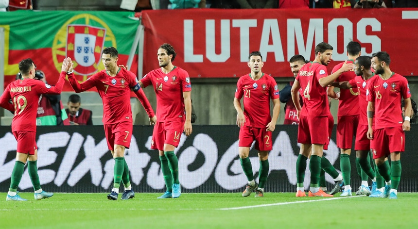 A seleção portuguesa tem dois jogos particulares agendados para outubro e novembro