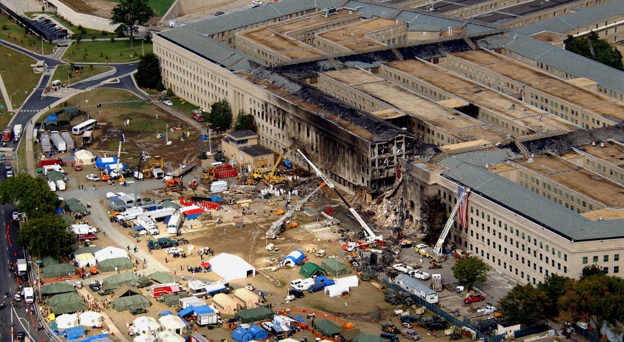 Ataque ao Pentagono em Washington   Departamento de  Defesa /Tech. Sgt. Cedric H. Rudisill