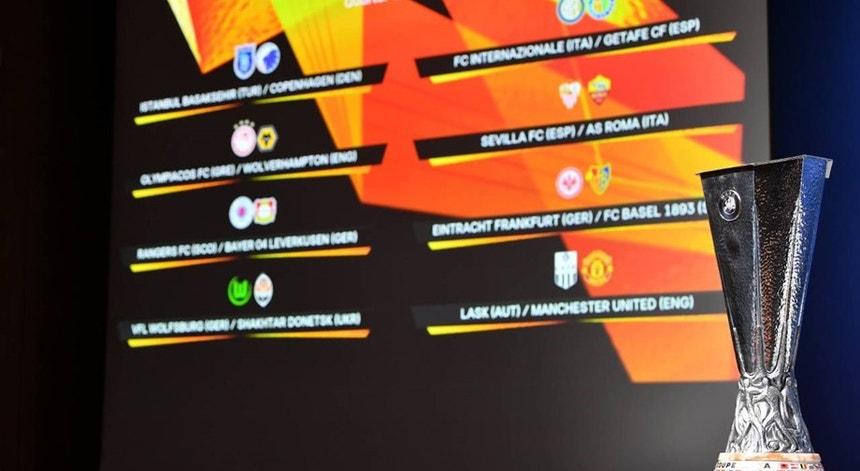 A Liga Europa conhece os jogos até à final com muitos portugueses pelo meio