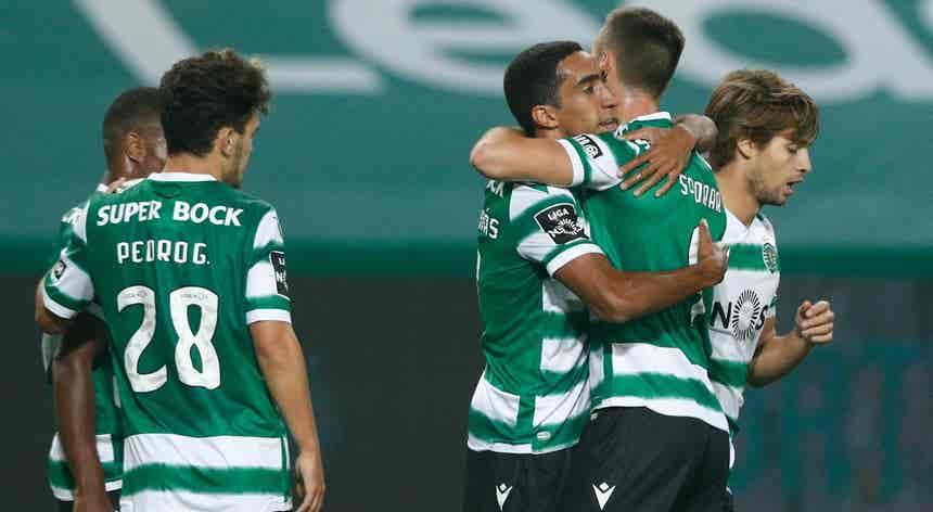 Vídeo: Sporting vence Gil Vicente com golos nos últimos minutos