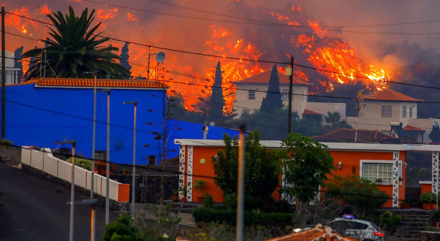 La Palma. Lava já destruiu mais de 180 casas