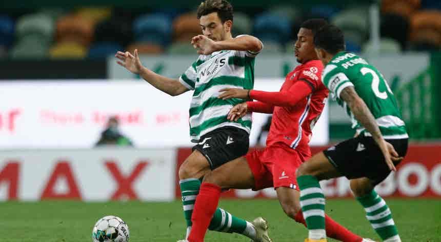 Sporting CP - Gil Vicente, I Liga em direto