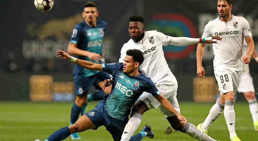 Vitória de Guimarães - FC Porto, Taça da Liga em direto
