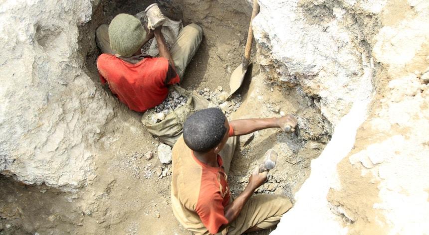 Cerca de dois terços do cobalto do mundo é proveniente da República Democrática do Congo
