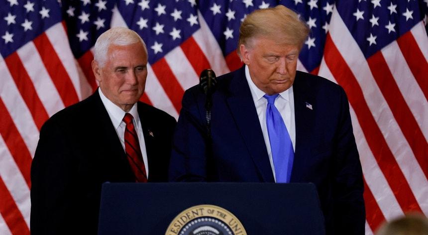 Mike Pence recusa avançar para a destituição de Donald Trump