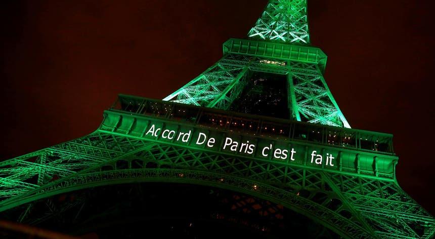 Em Paris foi celebrada a ratificação do Acordo, em novembro de 2016