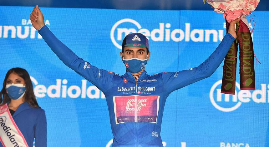 """Giro: Triunfo na nona etapa """"significa muito"""" para Ruben Guerreiro"""