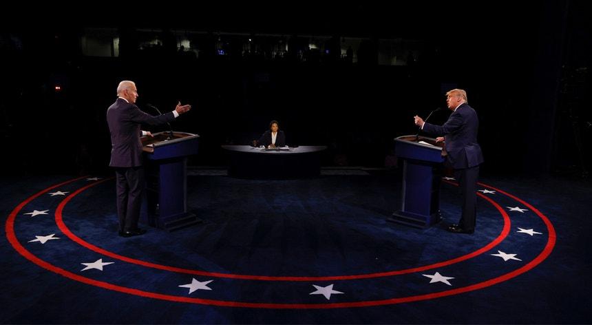 Biden e Trump esgrimiram os últimos argumentos antes das eleições