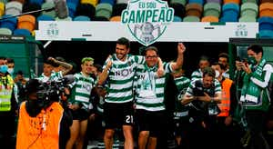 Paulinho autor do golo do título