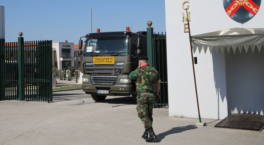 Entre o material furtado dos Paióis Nacionais de Tancos estavam granadas, incluindo antitanque, explosivos de plástico e munições