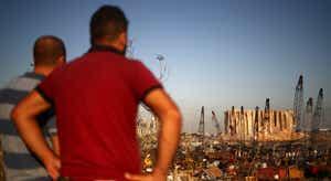 Já começou a limpeza da cidade de Beirute, mas as feridas continuam abertas