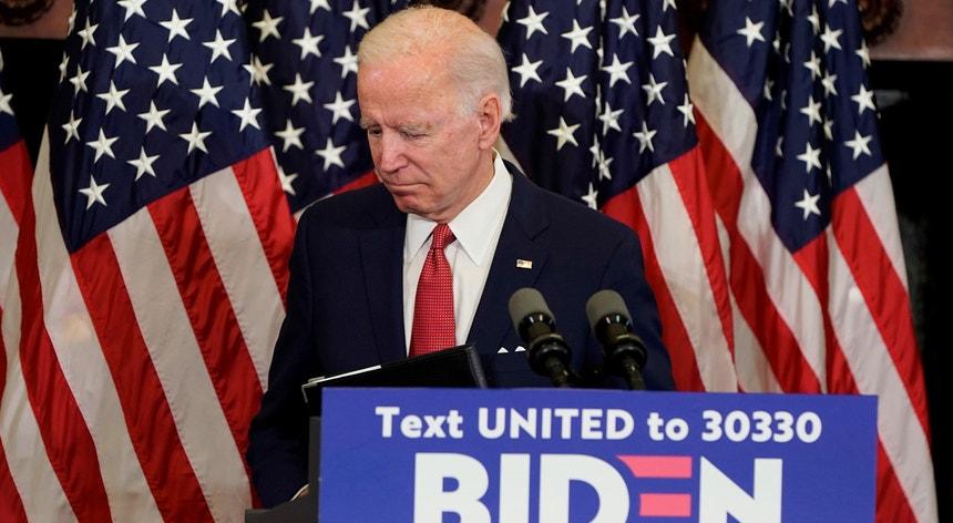 Joe Biden está prestes a garantir presença nas eleições presidenciais, de novembro, nos Estados Unidos