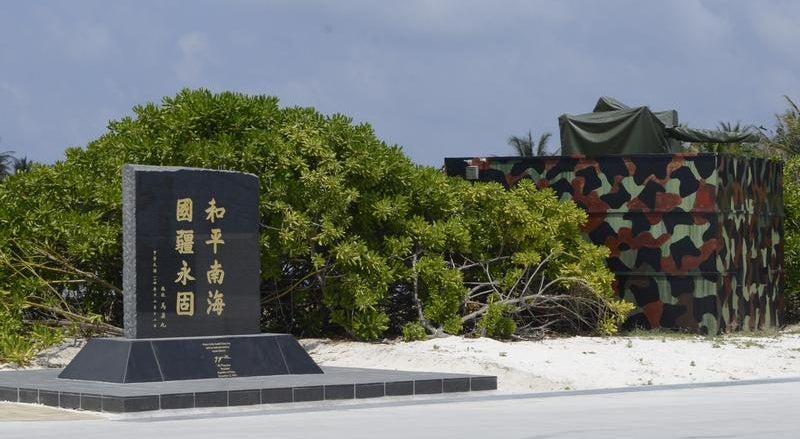 Taiwan condena militarização no mar do sul da China