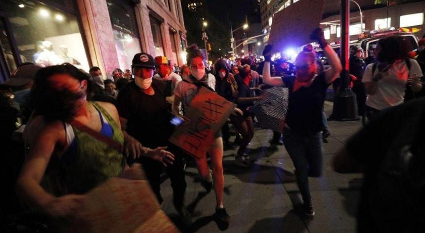 Os protestos  contra a morte de George Floyd já levaram a milhares de detenções