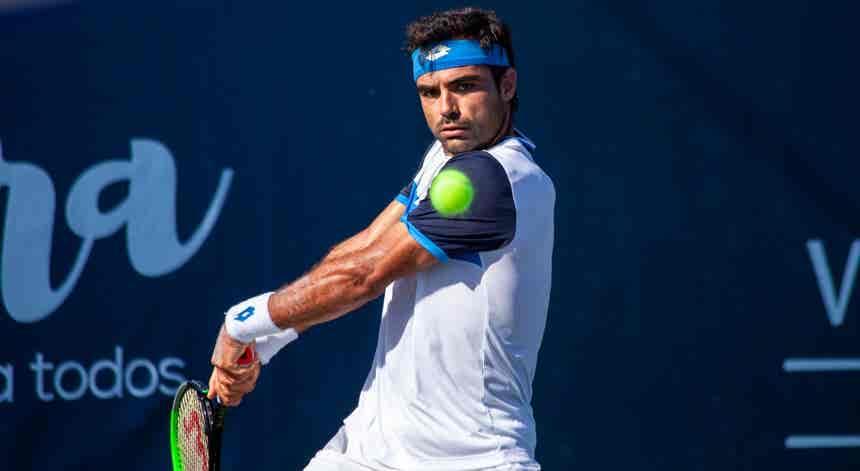 Tenista português Frederico Silva pela primeira vez na final de um `challenger`