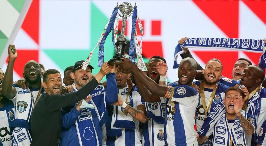O FC Porto levantou a Taça de Portugal e soma 78 troféus conquistados o seu palmarés