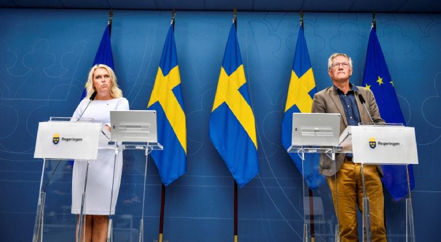 Desde sexta-feira, a Suécia verificou 1200 novos casos de contágio pelo novo coronavírus e cinco mortes.