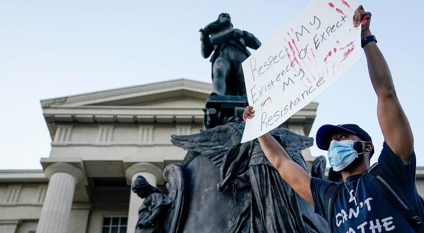 Manifestação em Louisville, Kentucky