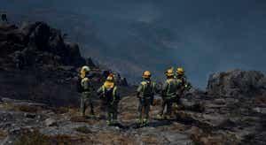 Fogo no Parque Nacional da Peneda-Gerês ainda mobiliza centenas de bombeiros