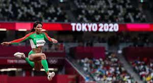Tóquio Dia 9. Patrícia Mamona voou para a medalha de prata