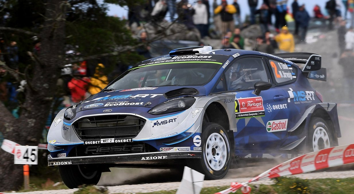 Rali de Portugal: Ott Tänak lidera após nove classificativas
