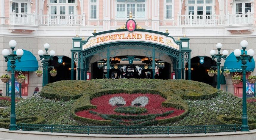 A Disneyland é um dos locais mais visitados de França