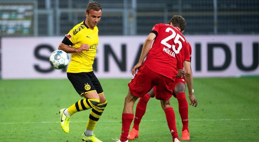 Valeu ao Bayern um golo para derrotar o Dortmund