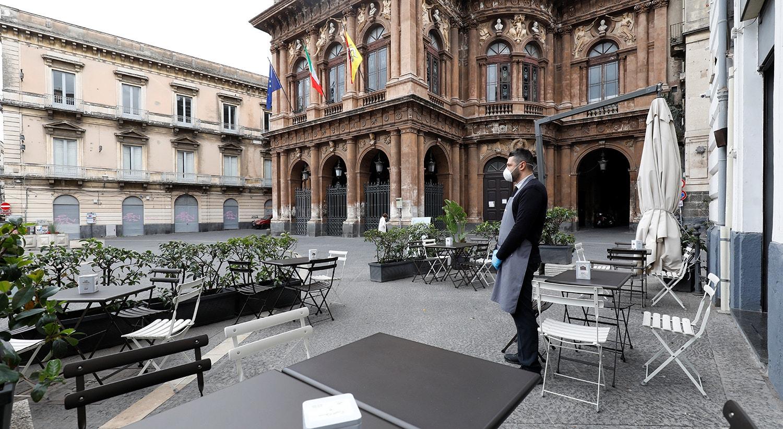 Teatro Massimo em Palermo /Antonio Parrinello - Reuters