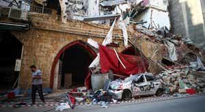 Beirute. Grande procura de assistência médica
