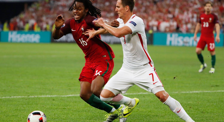 Frente à formação polaca, Sanches volta a ser eleito pela UEFA como homem do jogo.