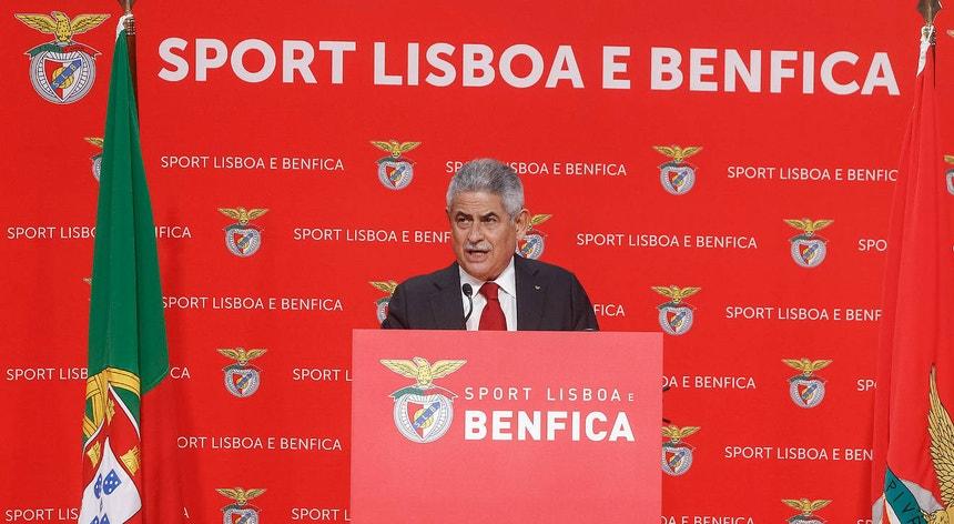 Luís Filipe Vieira foi reeleito presidente do Benfica