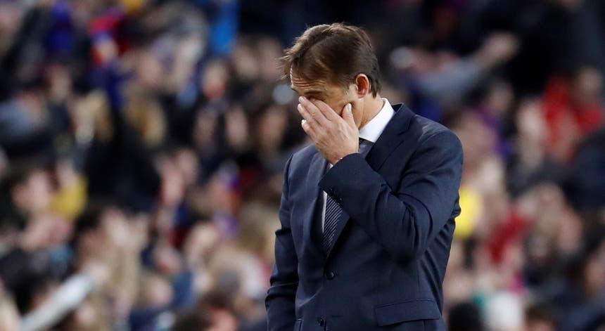 Lopetegui está a horas de dizer adeus ao Real Madrid