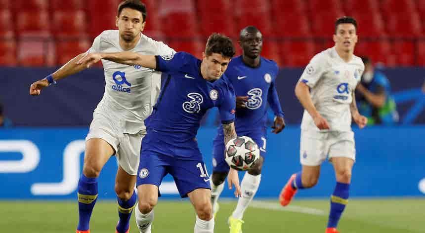 Liga dos Campeões. Chelsea FC - FC Porto