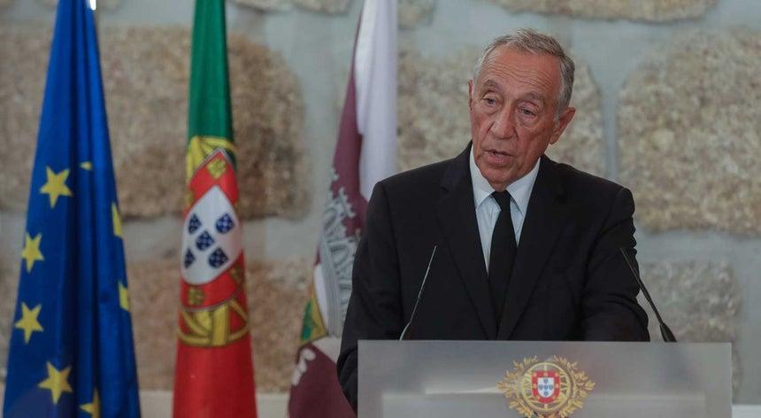 Marcelo exige ação a Costa e dá a palavra ao Parlamento