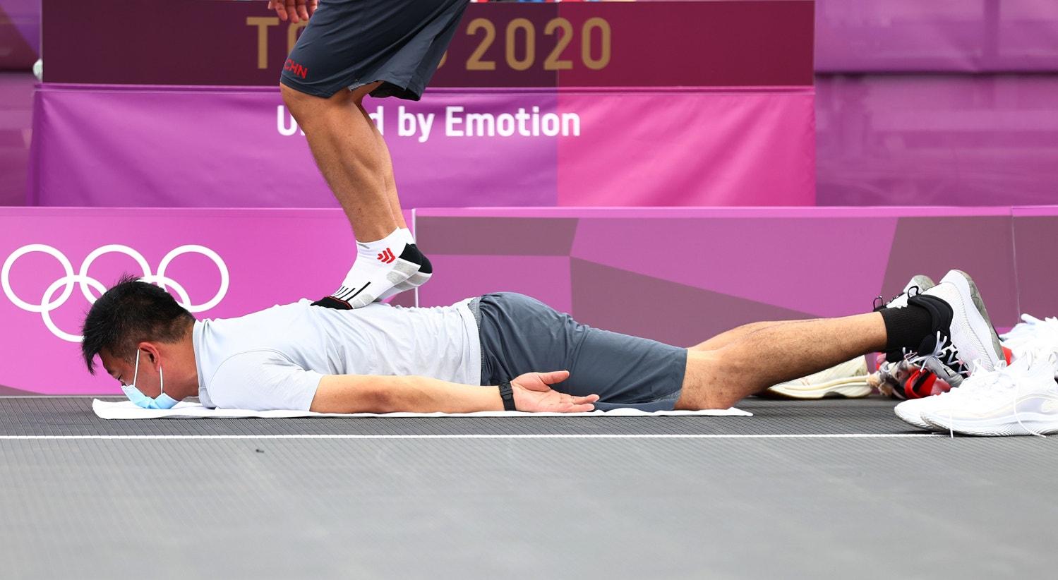 Massagem   Andrew Boyers - Reuters