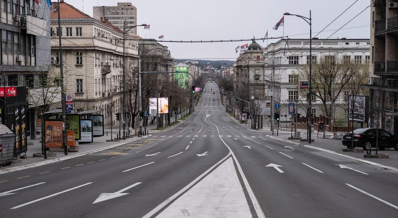 Rua Kneza Milosa em Belgrado, na Sérvia / Marko Djurica - Reuters