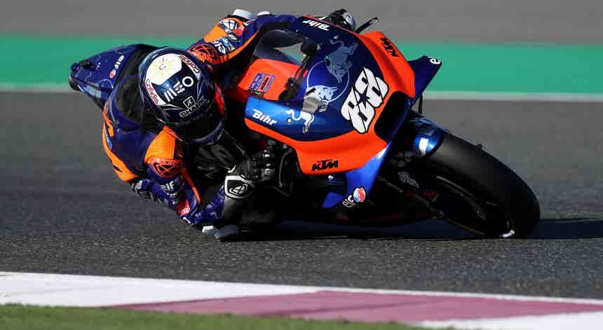 Miguel Oliveira consegue melhor classificação em MotoGP ao ser sexto em Brno